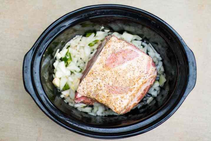 Pork Carnitas Easy Slow Cooker Pulled Pork ingredients