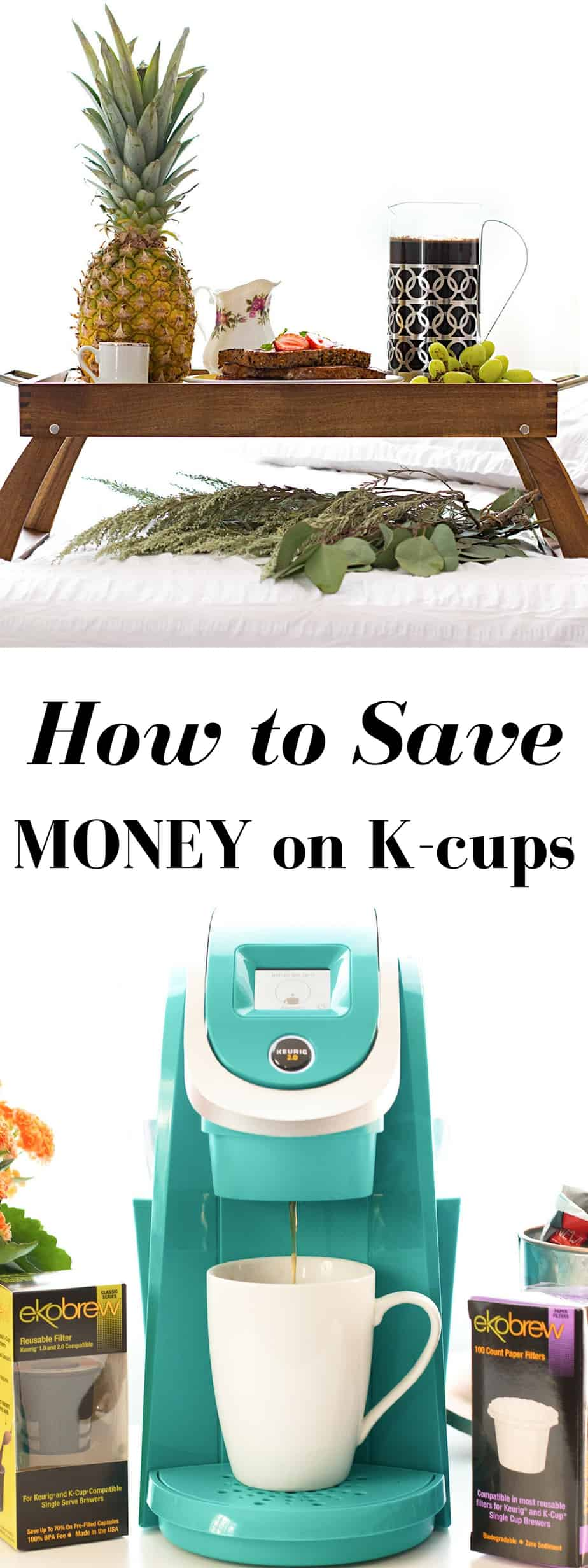 how to save money on k-cups. Stay green, save money! 100% BPA free