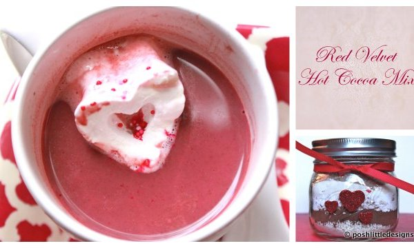 Red Velvet Hot Cocoa Mix