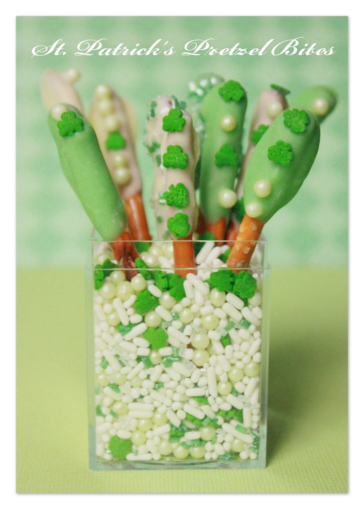 St. Patty's Pretzel Rods