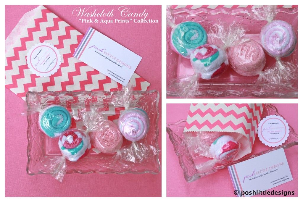 Posh Gifts ~ Washcloth Candy & Push Pops