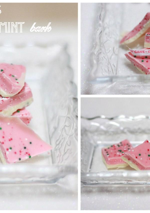 Pink Peppermint Bark