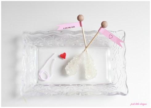 u are my rock - valentine's diy PLD