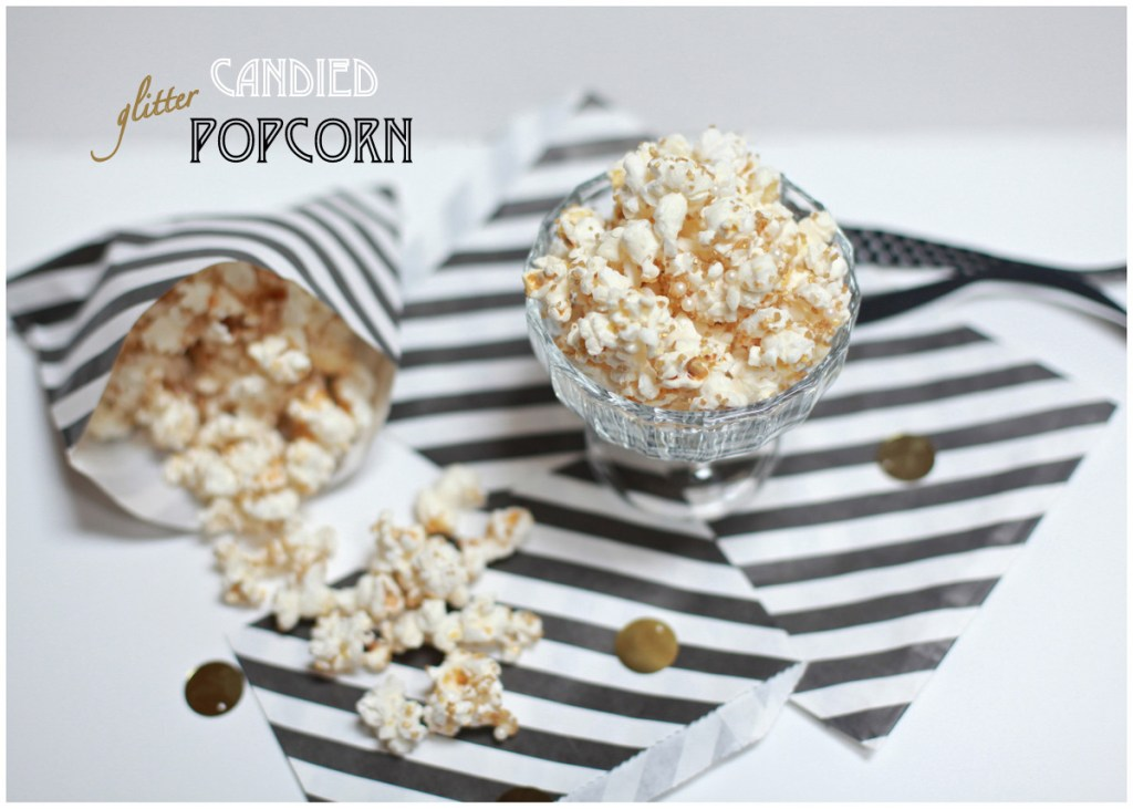 Glitter Party Popcorn
