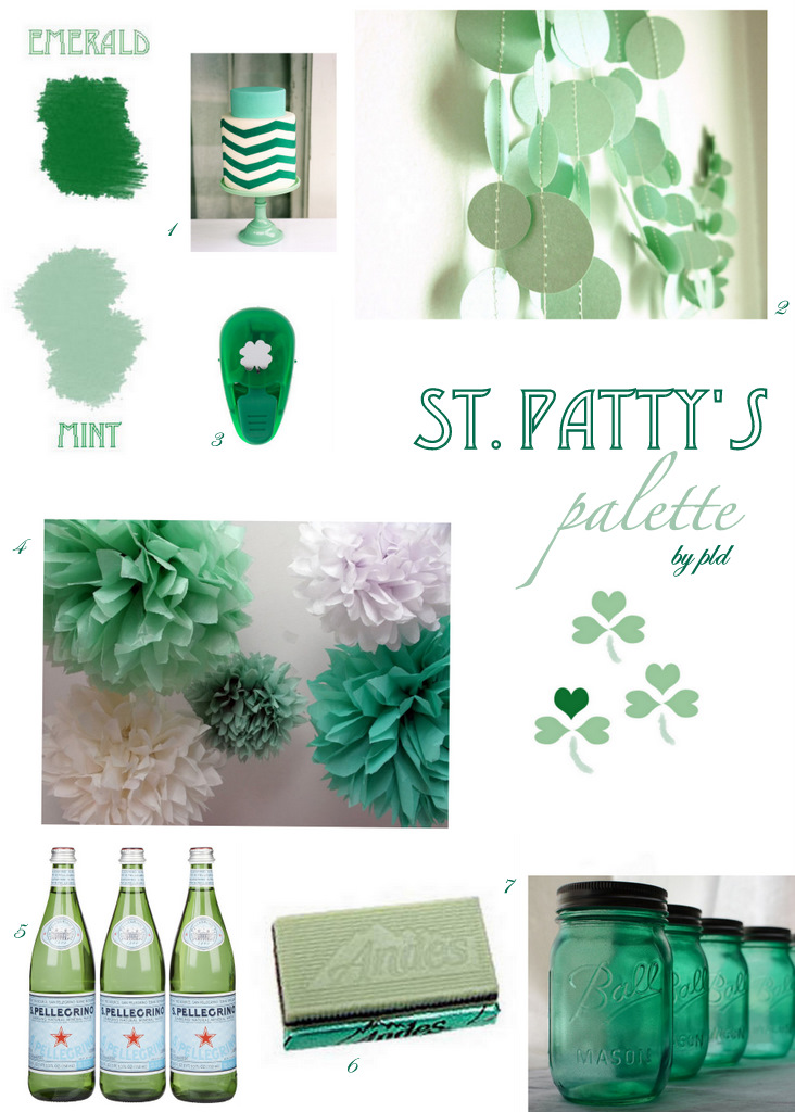Pantone for St. Patty's Day