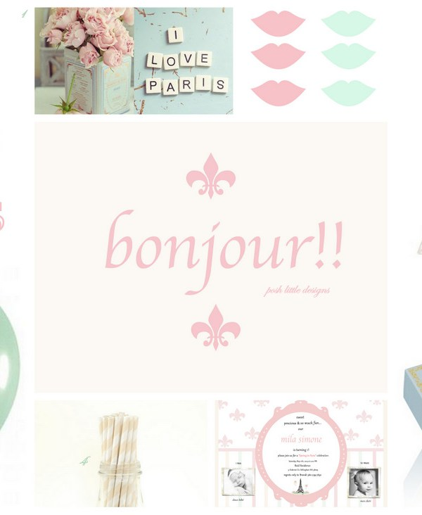 Spring In Paris – Inspiration and Invitations