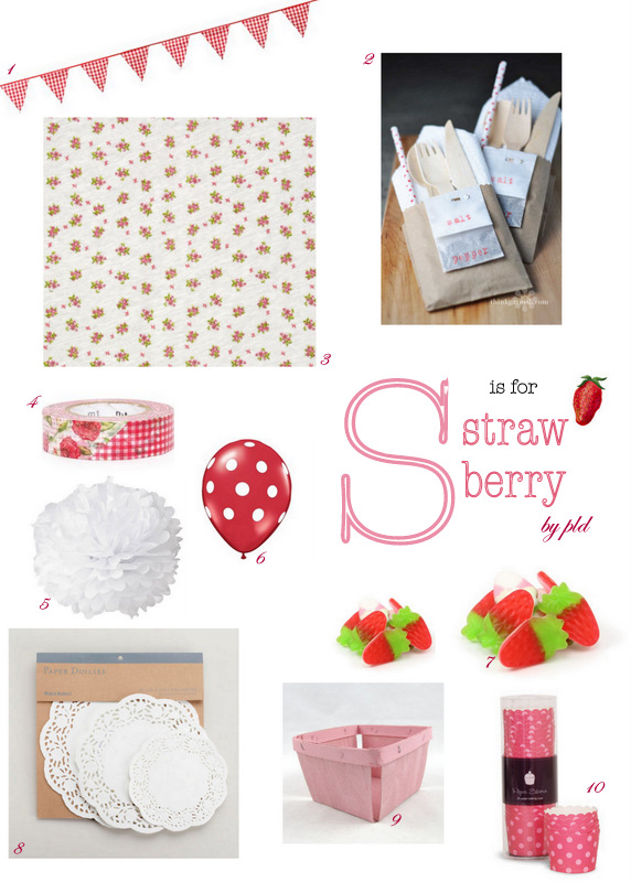 Celebrate – S is for Strawberry