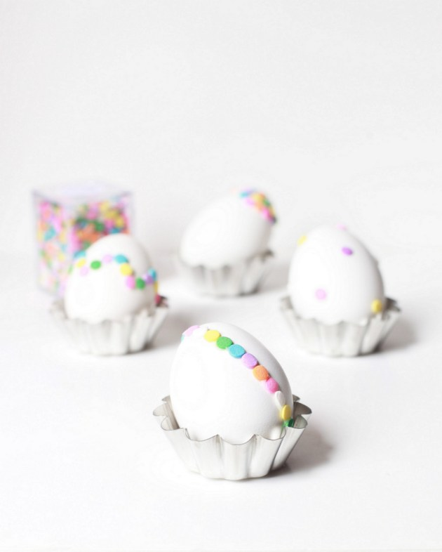 Confetti Easter Egg DIY | Posh Little Designs