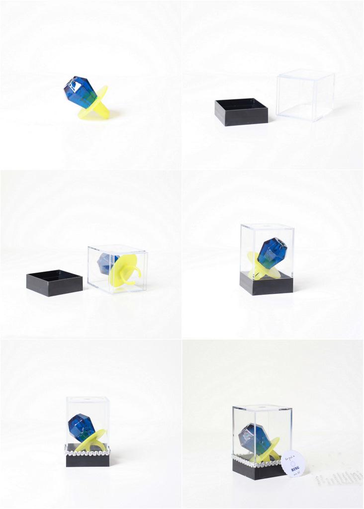 DIY ring pop party favors tutorial- Posh Little Designs
