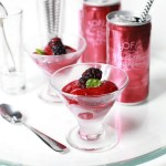 vegan recipe for sparkling blackberry and basil sorbet