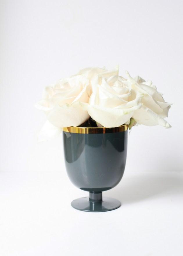 Black & Gold Mini Pumpkin Vases   Posh Little Designs