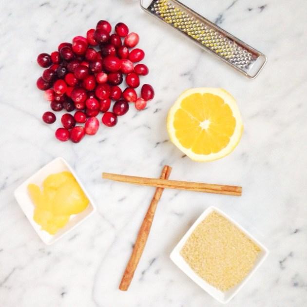Homemade Cranberry Sauce | Posh Little Designs