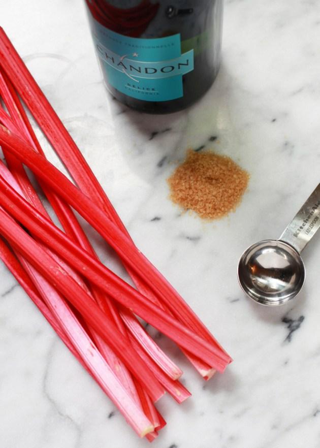Rhubarb Délice Mimosas   Posh Little Designs