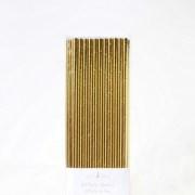 Gold Foil Straws - Meri Meri