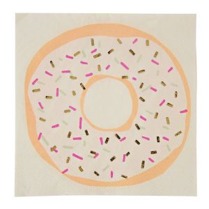 Foiled Donut Napkins