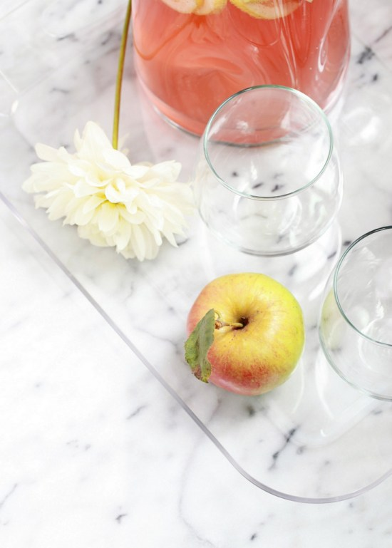 Apple Rosé Sangria