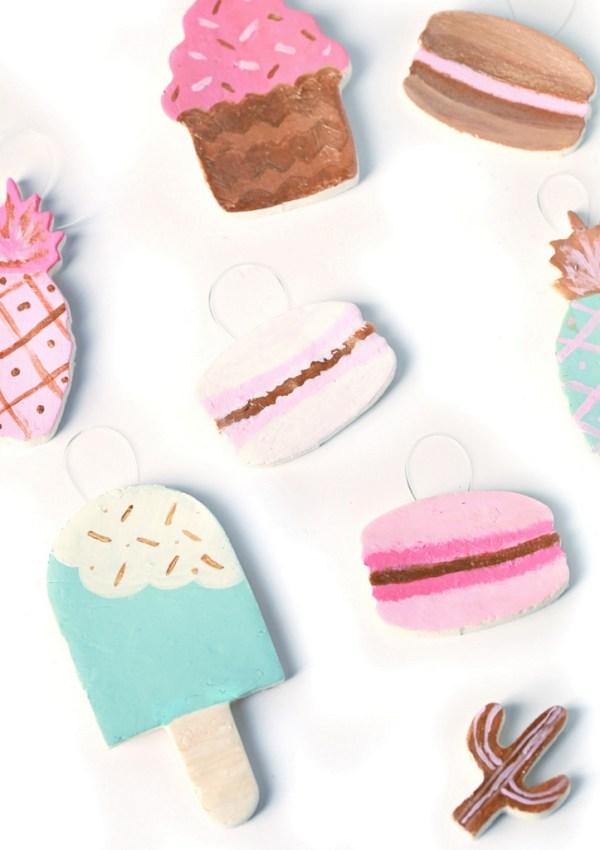DIY French Macaron Ornaments