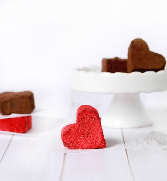 Strawberry Chocolate Truffles | Posh Little Designs