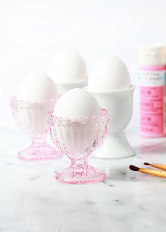 rosé - eggs - crafts
