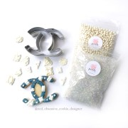 Chanel Sugar Cookies | OCD Obsessive Cookie Designer x Posh Little Designs