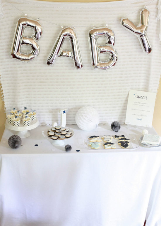 Surprise Baby Shower | Posh Little Designs