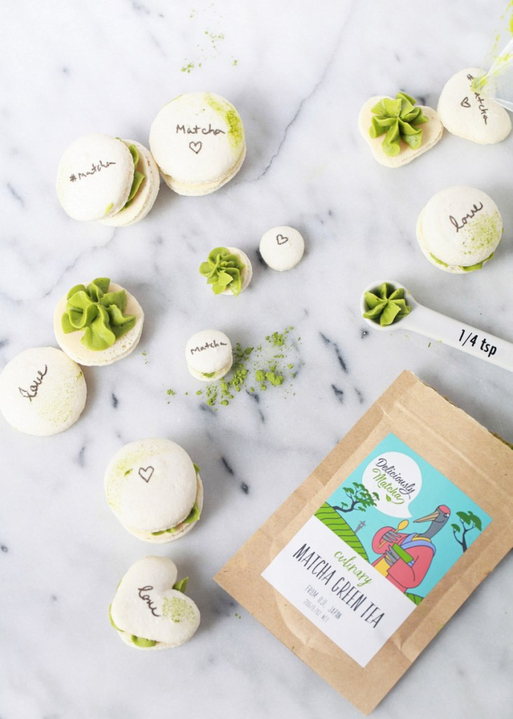 Deliciously Matcha Macarons