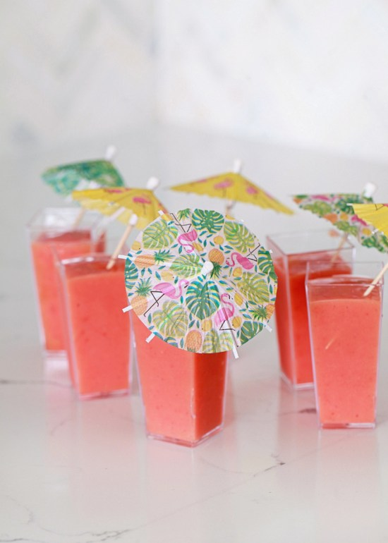 tropical smoothies - party drinks