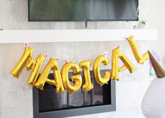 Unicorn Birthday, Party, Children