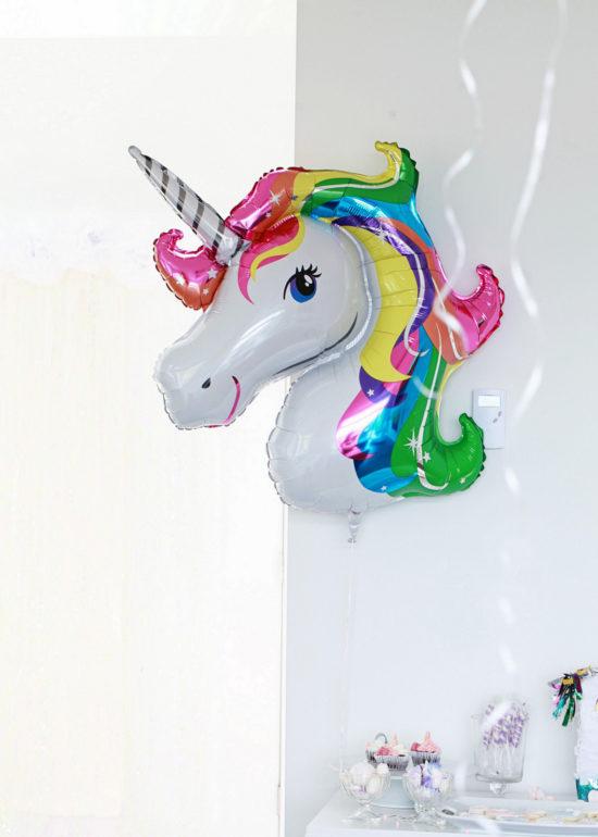 Unicorn Birthday, Party, Balloons