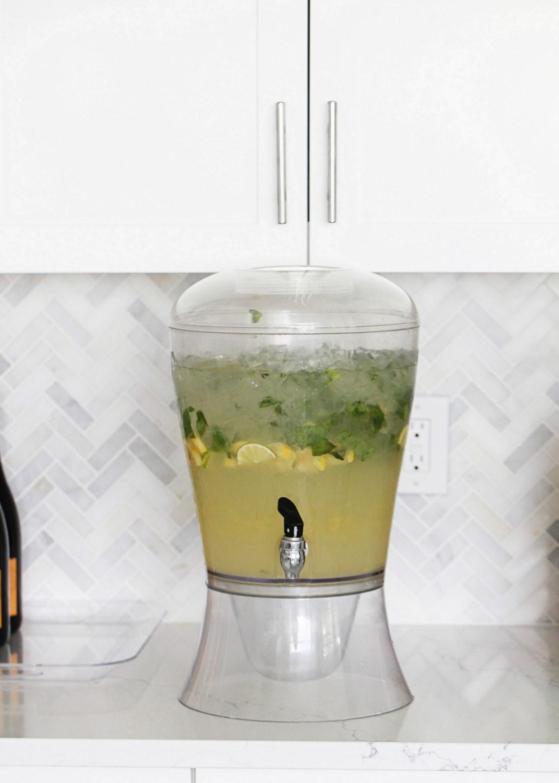 Lemon Lime Basil Cooler   PLD