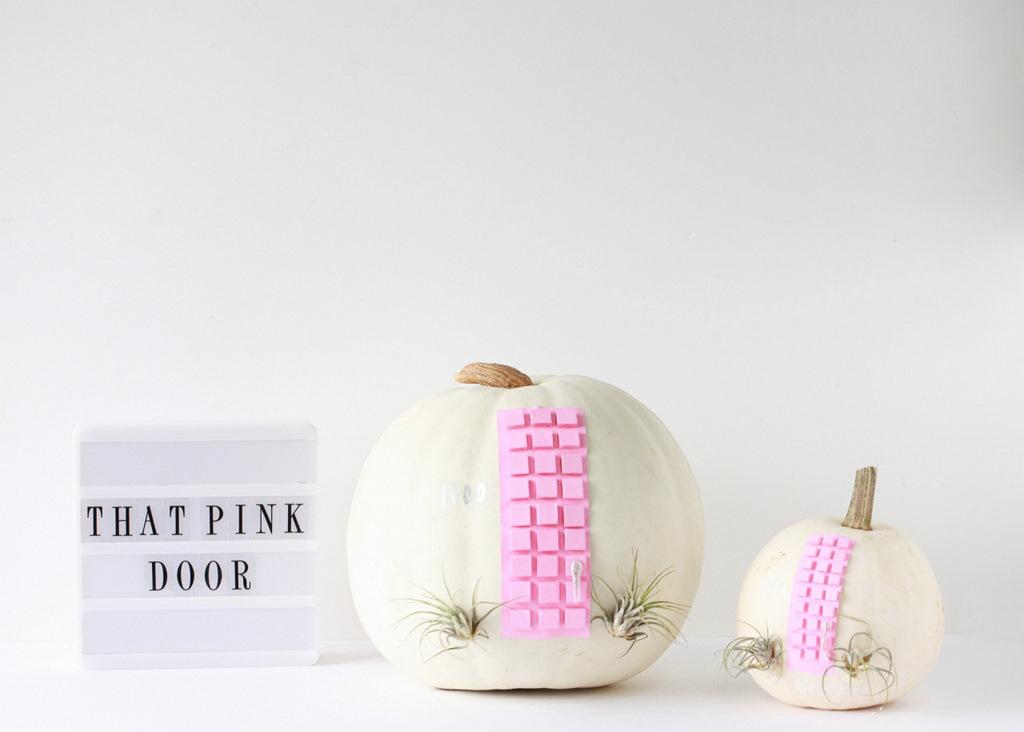 That Pink Door Pumpkin DIY