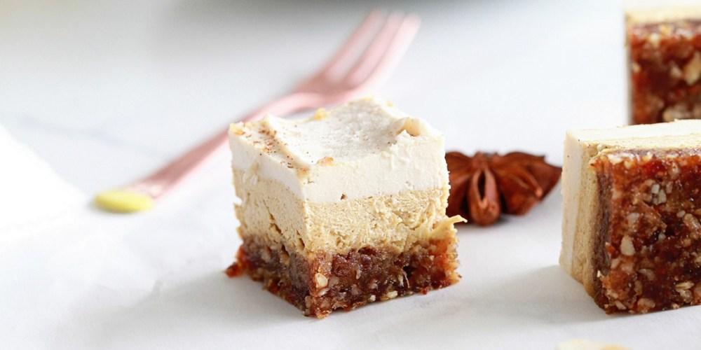Vegan, Dessert, Pumpkin Cheesecake
