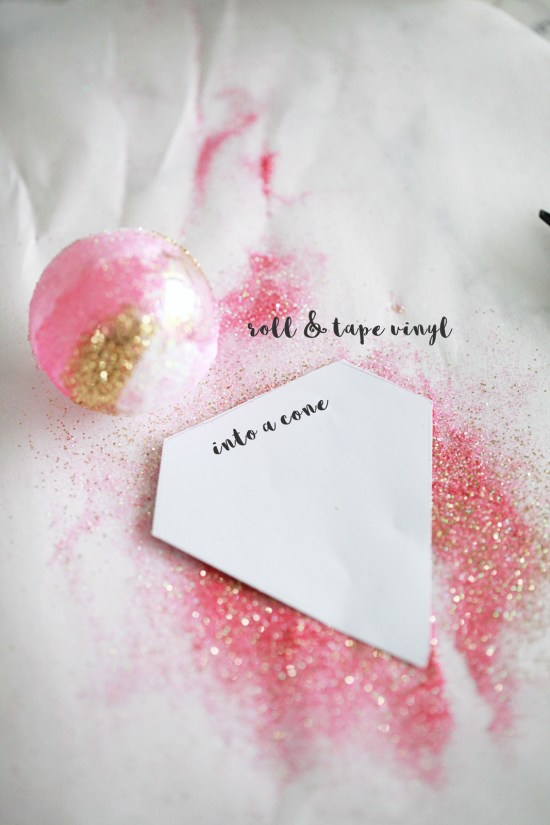 snow cone, ornaments, christmas, diy