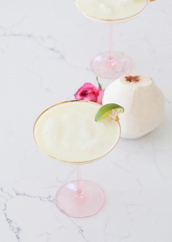 Ginger Coconut, Margarita, Drinks, Craft Cocktails,