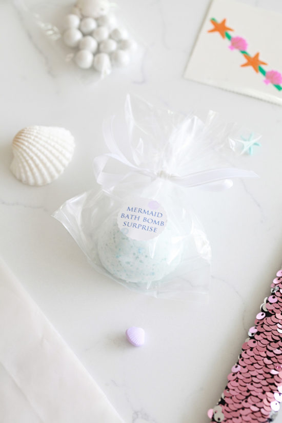 Bath bomb-DIY-Mermaid Party-Kids Parties