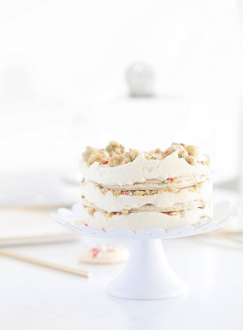 Milkbar inspired Macaron Birthday Cake