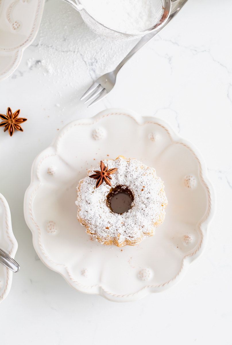 Pumpkin Spice Bundt Cakes | Posh Little Designs