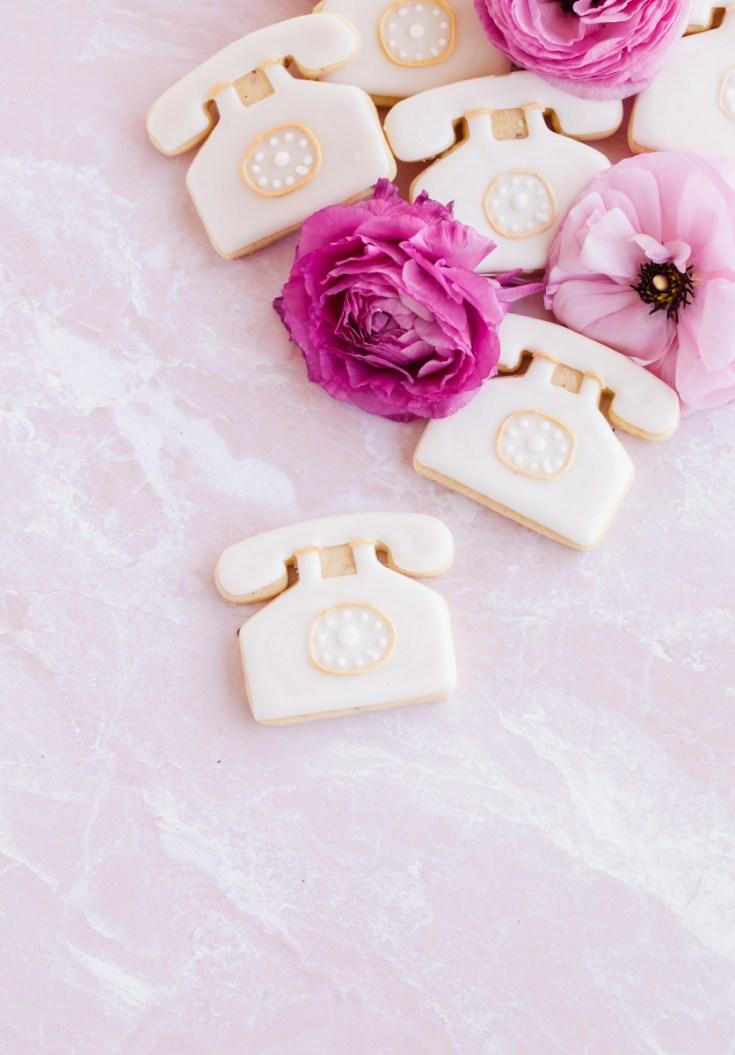 Rose Vanille Bean Sugar Cookies
