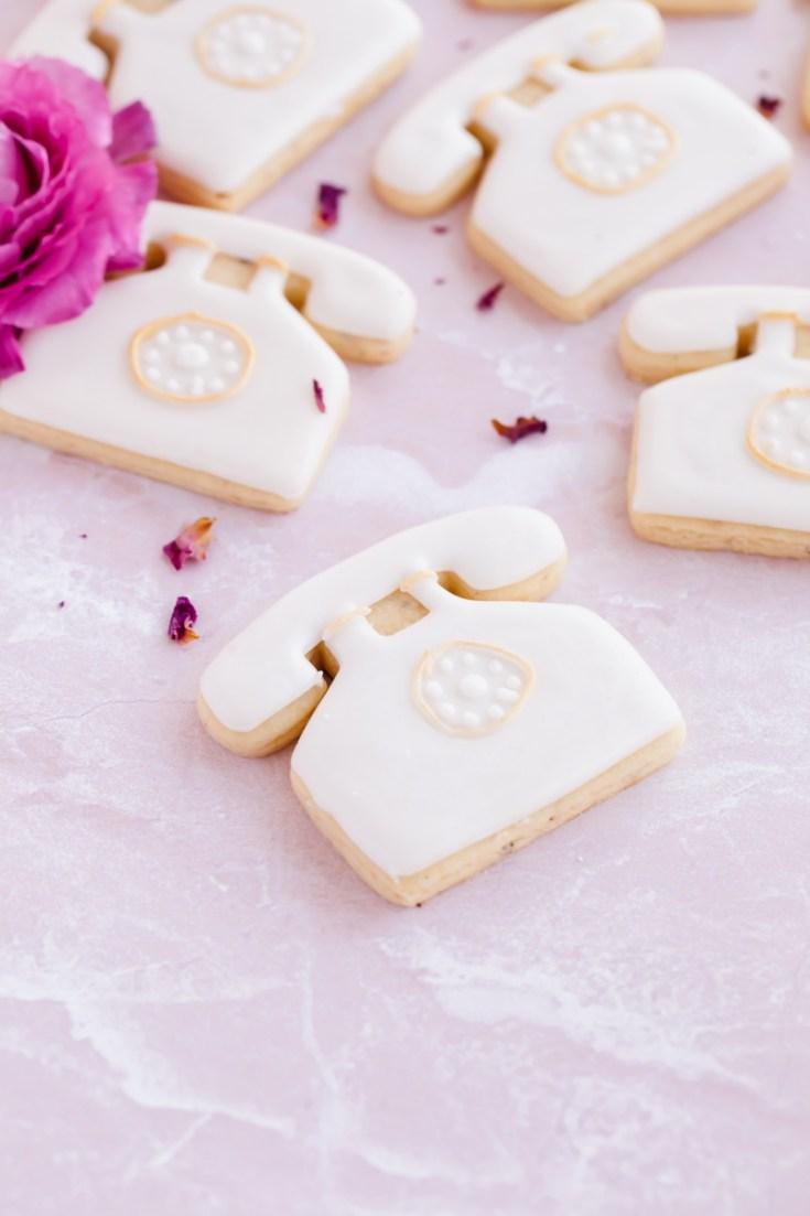 Rose Vanilla Bean Sugar Cookies