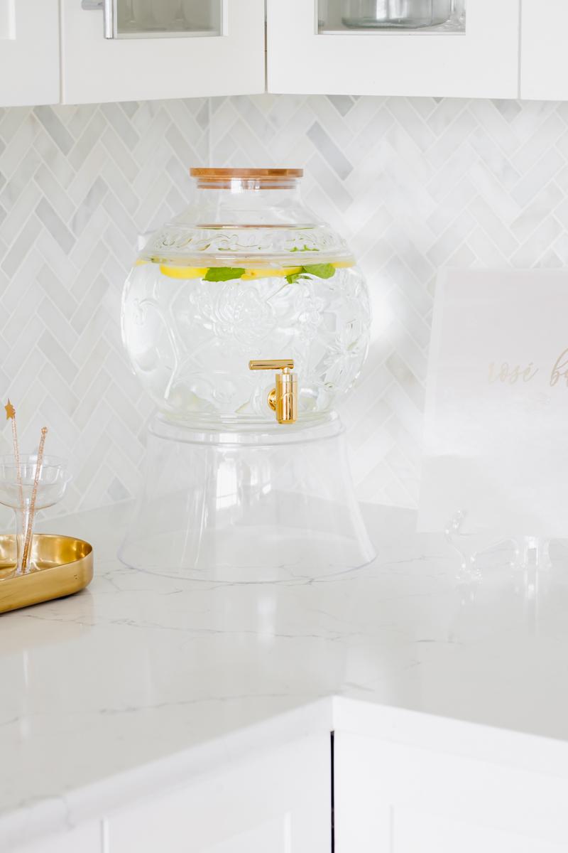 Lemon Min Infused Water