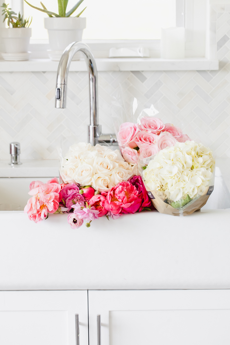 Party blooms - florals - flowers - peonies