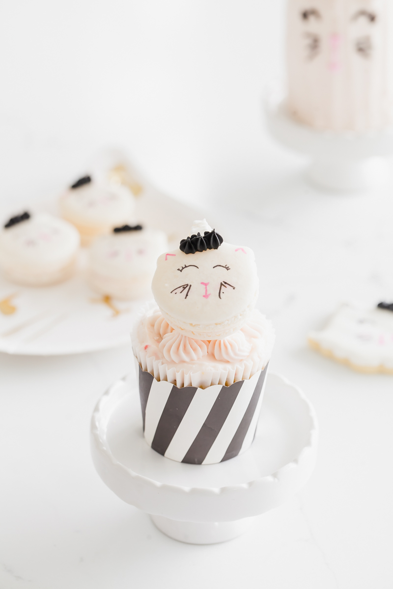Unicorn Kitten cupcakes - Children's birthday party