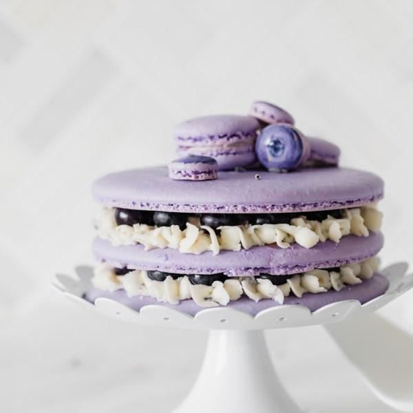 blueberry_lavender_macaron_cake_baking_recipes_summer_gluten_free_dairy_free_macarons_