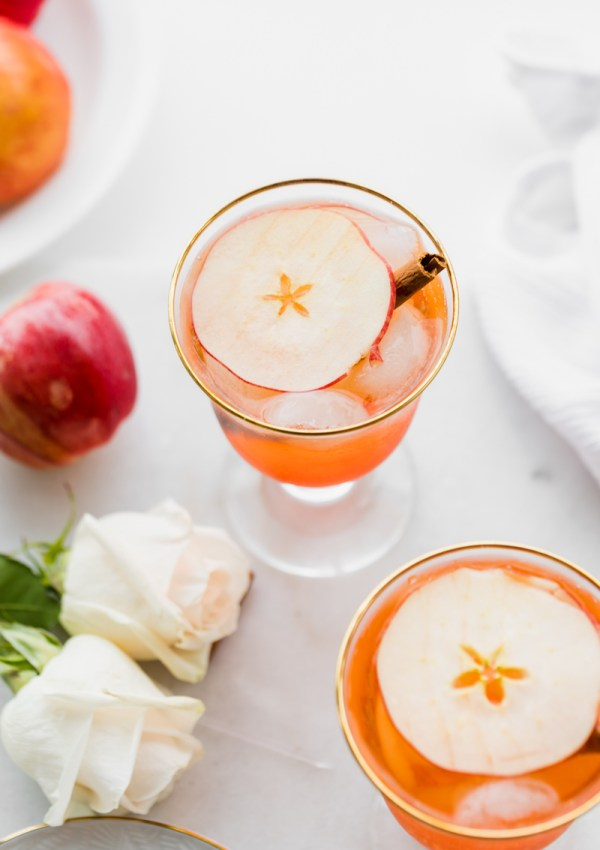 Apple Cider Aperol Spritz