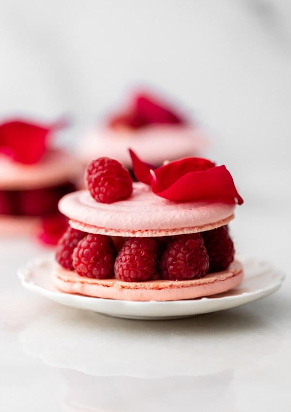How to Make Ispahan Macarons