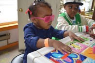 Birthday girl just wouldn't take her shades off ; )