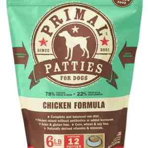 Primal 6lb Canine Chicken Formula Patties