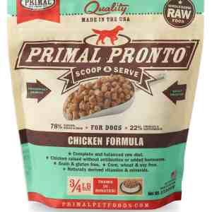 Primal 0.75lb Canine Chicken Pronto Formula – TRIAL