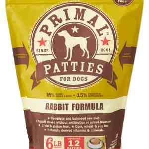 Primal 6lb Canine Rabbit Formula Patties