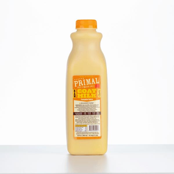 Primal Goats Milk Pumpkin Spice 32 Ounce 1
